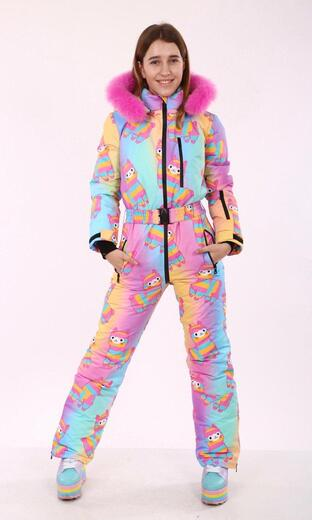 "Winter jumpsuit for female Boo&Bon ""Alpaca"""