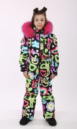 "Winter Jumpsuit for teenagers Boo&Bon ""Neon"""