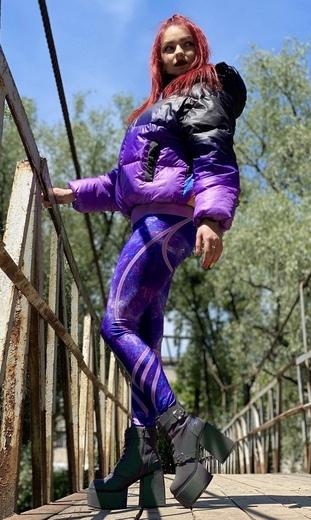 "Куртка-зефирка женская Boo&Bon ""Acid frog"" арт.ПЖЗКл-3"