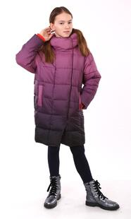"Cocoon down jacket for teenagers Boo&Bon ""Girl on stairs"""