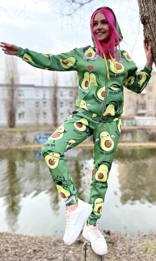 """Спортивный костюм женский Boo&Bon """"Авокадо"""" арт.СкЖэАв-2"""