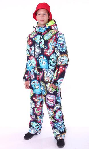 "Winter jumpsuit for men Boo&Bon ""Zombie"""