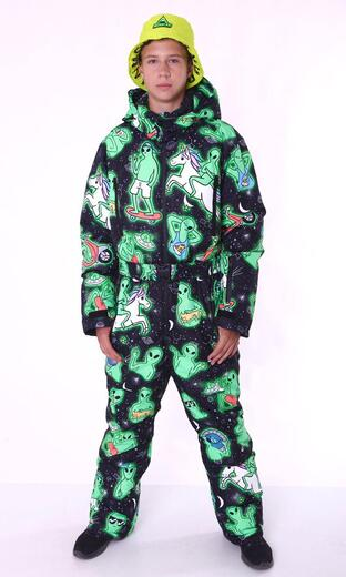 "Winter jumpsuit for men Boo&Bon ""Aliens"""