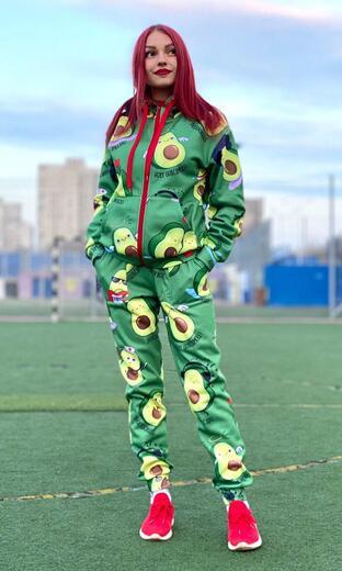"Women's sports suit Boo&Bon ""Avocado"""