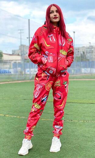 "Women's sports suit Boo&Bon ""Cherry"""