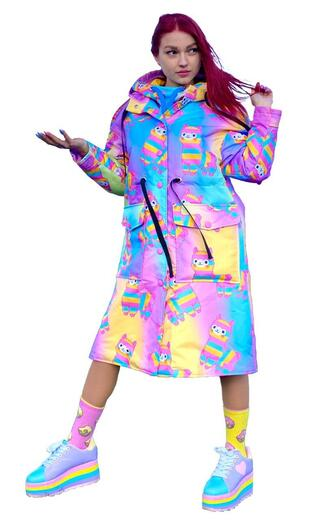 """Women's raincoat Boo&Bon """"Alpaca"""""""