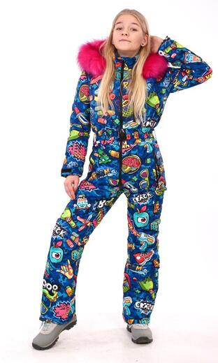 "Winter jumpsuit for female Boo&Bon ""Hooligan"""
